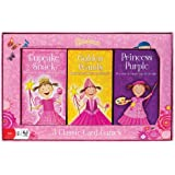POOF-Slinky 0X3310 Ideal Pinkalicious Goldene Wands, Cupcake Snack und Prinzessin Lila Playing Card Games mit Victoria Kann Artwork, 6-Spiele insgesamt