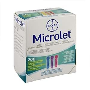 ASCENSIA Microlet Lanzetten, 200 St