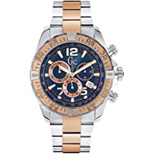Guess - Collection men's 45mm chronograph mineral glass quartz date watch y02002g7