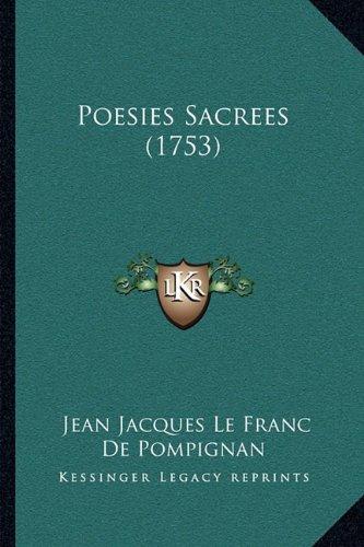 Poesies Sacrees (1753)