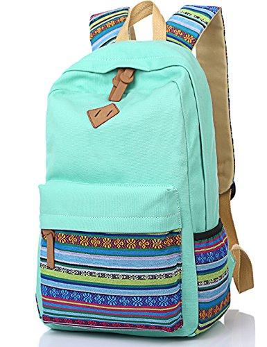 leaper-sac-a-dos-scolaire-cartable-fille-sac-a-dos-voyage-en-toile-sac-ordinateur-portable-aqua