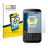 brotect Blackberry Classic Q20 Schutzfolie Displayschutzfolie [2er Pack] Folie Displayfolie Klar
