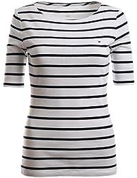 Tommy Hilfiger Damen 3 4 Arm Shirt Longsleeve Damenshirt Marine Größe S 046dec2f98