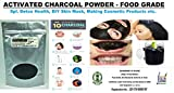 #3: Charco Chemicals Food Grade Activated Charcoal Powder - 100 G