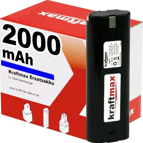 Preisvergleich Produktbild Akku für MAKITA Bohrschrauber 6018DWBE - 7,2V / 2000mAh / Ni-Cd - Profiqualität mit frischen, hochwertigen Zellen