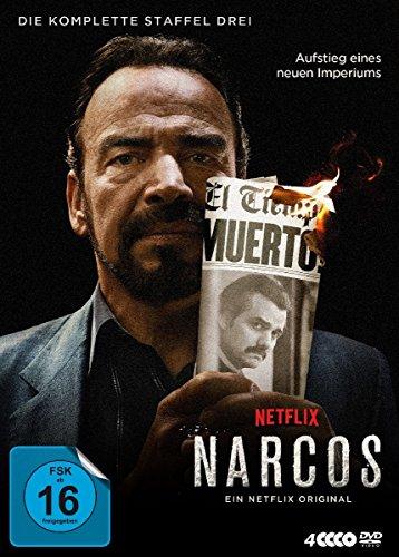 Narcos - Die komplette Staffel Drei [4 DVDs]