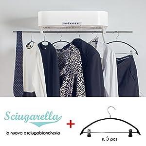 """I 3 migliori asciugatori elettrici ad aria per indumenti tipo """"Sciugarella"""" su Amazon"""