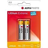 AgfaPhoto–Piles AA au lithium Extreme Lot de 2