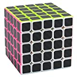 Puzzle Cube 5x5x5 Coolzon Cubo Magico con Pegatina de Fibra de Carbono...