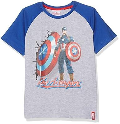 Marvel Boy's Avengers M T-Shirt