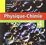 Physique Chimie 4e CD Etablissement