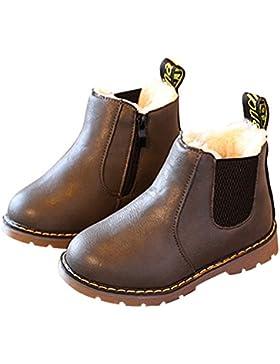 Botas de Nieve Niñas, Niños Bebé Invierno Caliente Zapatos Martin Boots