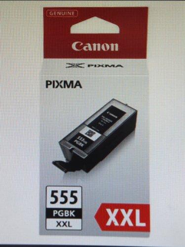 5 Original Druckerpatronen PGI-555 XXL black + CLI-551 bk/c/y/m für Canon Pixma MX 925 MX925 MX725 MX 725 Tintenpatronen