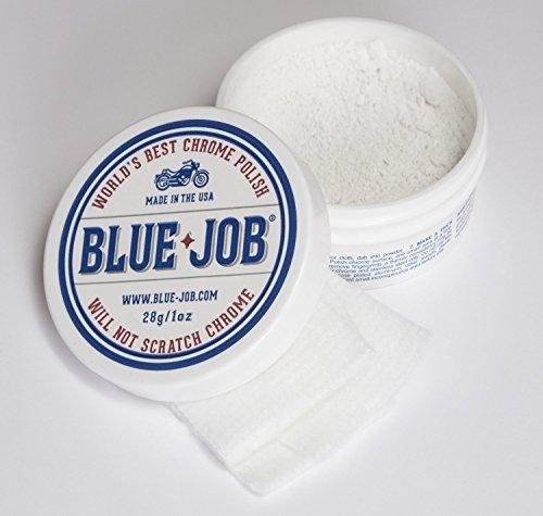 blue-job-chrom-politur-entfernt-auspuffrohr-blau-motorrad-auto