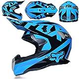 HuAma Cross Helm Motocross Klapphelm Integralhelm Helm Motorradhelm Roller Motorrad Helm Integral...