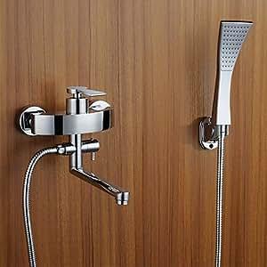 moderne badewanne wasserhahn und dusche regen armatur dusche hand dusche enthalten ausziehbares. Black Bedroom Furniture Sets. Home Design Ideas