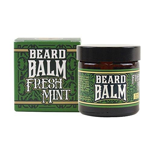 HEY JOE - Beard Balm Nº7 FRESH MINT 50ml | Balsamo para barba 50ml con ARGÁN, JOJOBA, COCO y manteca de KARITÉ. Aroma a MENTA Y PINO
