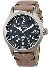 Timex - TW4B0170- Montre Homme - Quartz - Analogique - Eclairage - Bracelet cuir gris