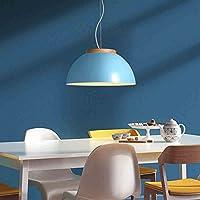 JAZS® Araña simple moderna, mesa de comedor de restaurante de moda de hierro lámpara de cubierta de la oficina de la barra de araña nórdica Lujo creatividad simplicidad ( Color : Azul )