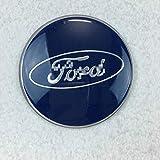 Geschikt voor Ford wielhoes 65 MM Ford blauw wiel plastic cover Fox Carnaval wiel cover 65 MM 2 blauw 65 MM