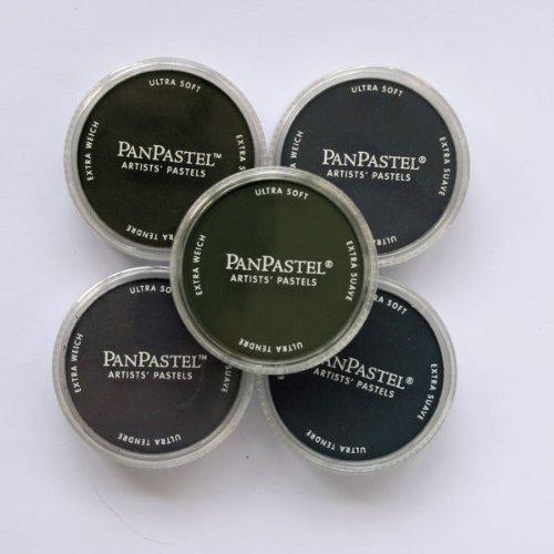 Pan Pastel Artists 'painting pastelli 5Colour set-Shadows