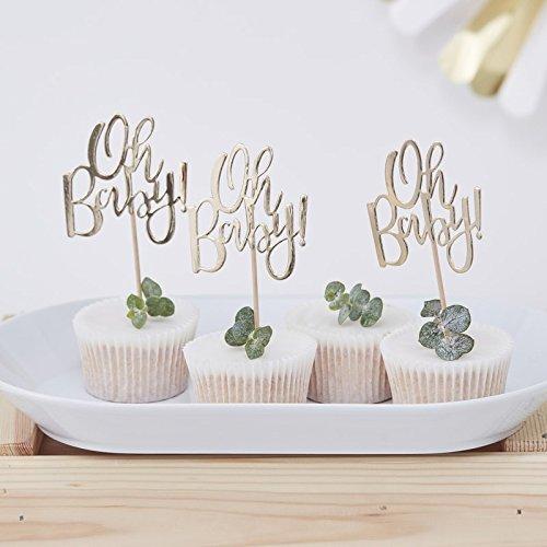 Cupcake Sticks Oh Baby 12er Set Stick-set