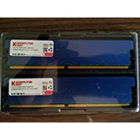 Komputerbay 4GB 2x 2GB DDR2 PC2 8500 1066Mhz 240 Pin DIMM 4GB KIT - è dotato di dissipatori di calore per il raffreddamento supplementare