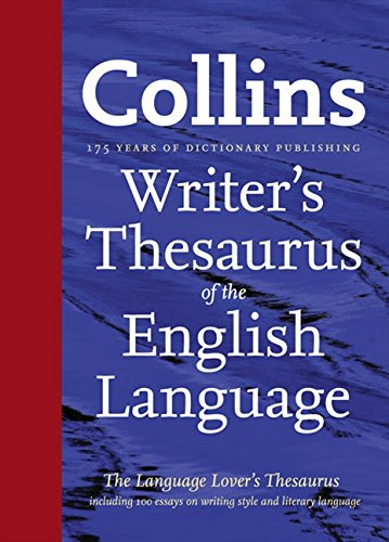 Writer's Thesaurus of the english Language par Ian Brookes