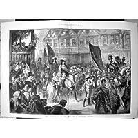 Cavalli Entranti 1688 di William 111 Exeter
