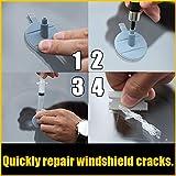 Doolland Car Windshield Repair Kit Auto Glass Windscreen Repair Set Auto Car Windshield