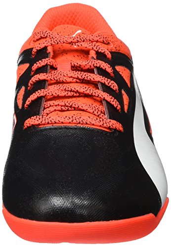 Puma Evospeed Sala 1.5, Chaussures de Football Compétition Homme Rouge - Rot (Red blast-White-Black 01)