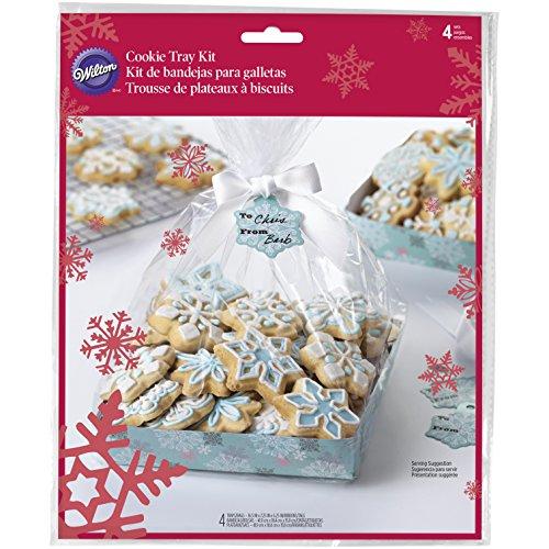 istmas Cookie Tablett in-Set, Mehrfarbig, 4Stück ()
