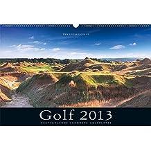 Golfkalender 2013: Deutschlands schönste Golfplätze