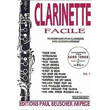Partition : Clarinette facile vol 1
