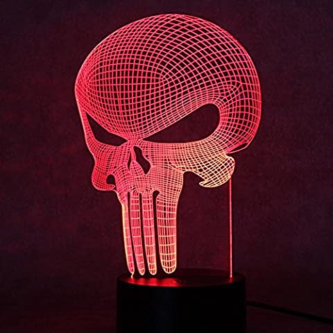 Maman Fils Halloween - Lumière visuelle 3D small night light illusion