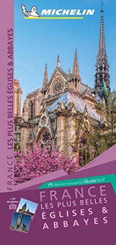 Carte des Plus Belles Églises de France Michelin par Michelin