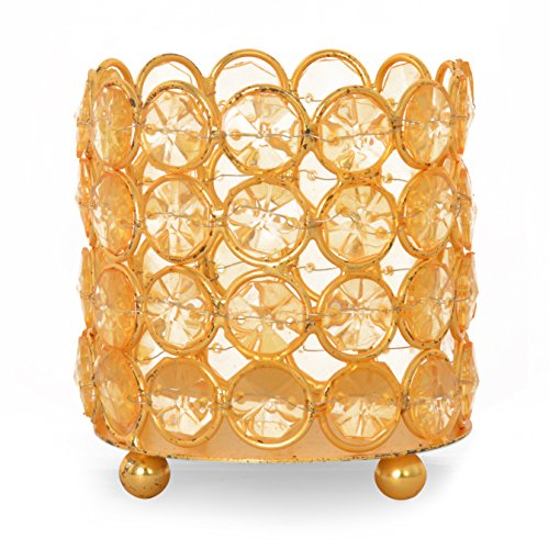 @home by Nilkamal YELLOW Urban Antique Candle Holder  available at amazon for Rs.199