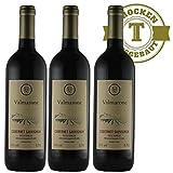 Rotwein Italien Cabernet Sauvignon 2015 trocken (3 x 0,75l) - VERSANDKOSTENFREI -