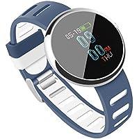 Fitness Tracker, CHENGXI 0.96 OLED SmartWatch de Pantalla Colorida con Presión Arterial Monitor Salud Inteligente Pulsera Reloj Pulsera Corazón Tasa de Podómetro Actividad Tracker con Alarma Rastreado
