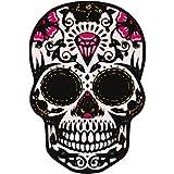 Autocollant Tête de mort muerta skull stickers adhesif - 4 cm