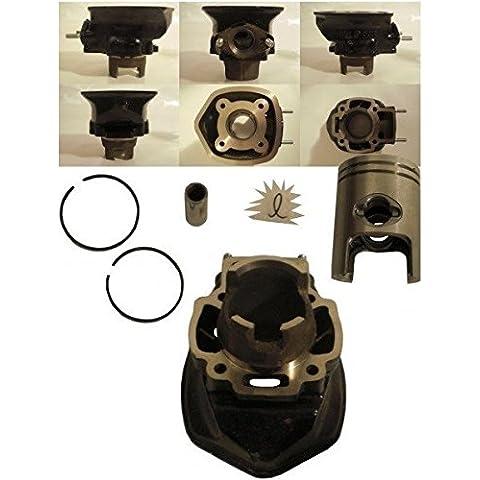 Cilindro e pistone Derbi GP 1Piaggio Pure Jet motore 50ccm 2T LC - Gp Pistone