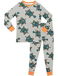 Minecraft - Pijama para Niños Ajuste Ceñido