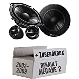 Renault Megane 2 - Pioneer TS-G133Ci - 13cm Lautsprechersystem - Einbauset