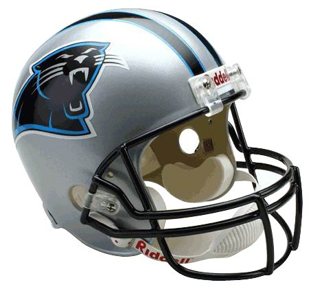 NFL Riddell Replica Full-Size-Helm Carolina Panthers