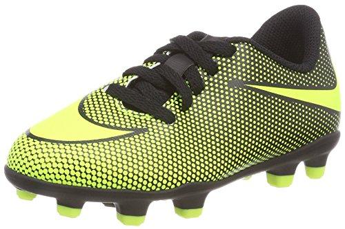 Nike Kleinkind Capri Sneaker Jungen, Schwarz (Black/Vert Volt), 29.5 EU