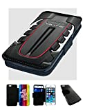Audi V8TFSI Motoren. Bedruckte Leder Flip Case Cover, Polyester, iPhone 6 11,9 cm (4,7 Zoll)