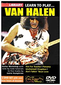 Lick Library - Learn to Play Van Halen [Import anglais]