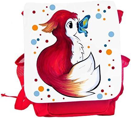 Zaino per bambini Asilo kindertasche Zaino Rosso volpi con punti punti punti e farfalla kgn042 | Funzione speciale  | Per Essere Altamente Lodato E Apprezzato Dal Pubblico Dei Consumatori  | Conosciuto per la sua buona qualità  | Colore molto buono  | Materiali D f2f05d