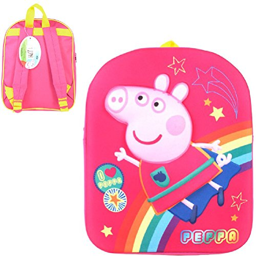 Peppa Pig Kind, rosa Rucksack (Pink) - PEPPA001321 (Peppa Pig-schule-tasche)