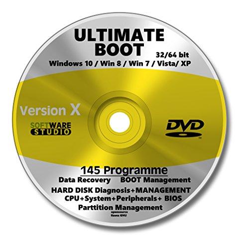 Notfall CD DVD, System Rescue, Computer reparieren, System wiederherstellen, Datenrettung, Hilfe bei System-Crash, Rettungs-CD, Notfall-CD DVD,Erste-Hilfe um PC zu starten, erspart Hohe Kosten beim Fachmann, Windows wiederherstellen NEU